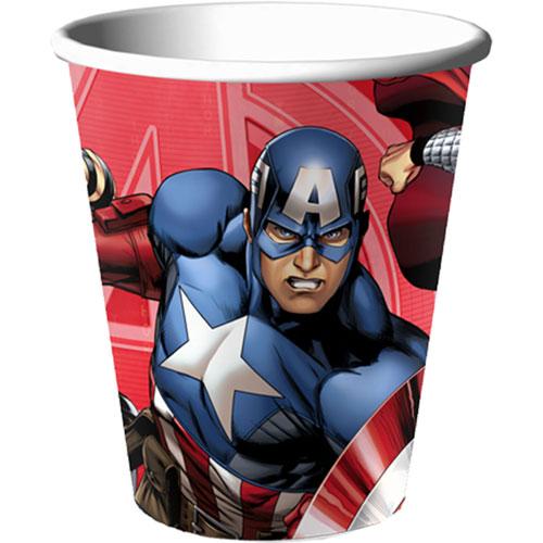 Avengers Assemble 9 oz Cups