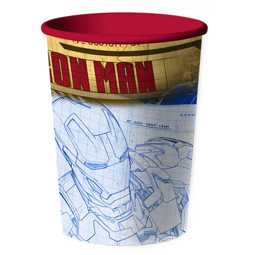 Iron Man 3 16oz Favor Cup