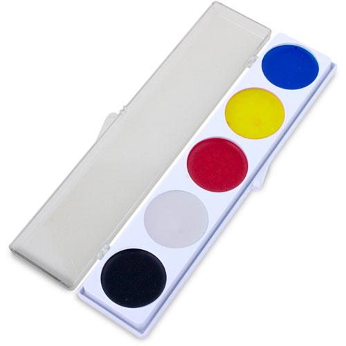 5 Color Costume Make-Up Palette