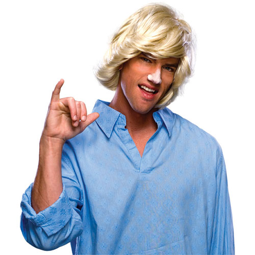 Blonde Surfer Dude Wig