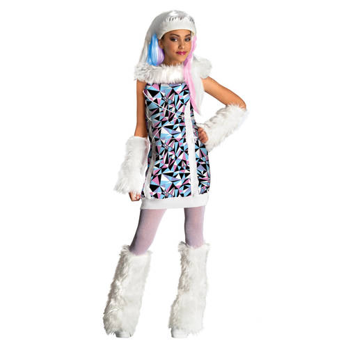 Abbey Bominable Girls Costume Large