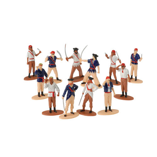 Pirate Figures (12ct)