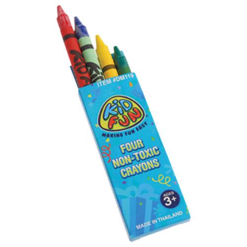 Box of 4 Crayons