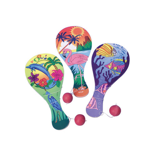 Luau Paddle Balls (12 ct)