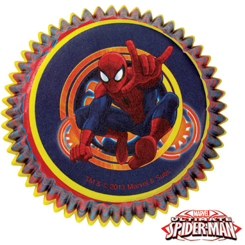 Spider Man Ultimate Baking Cups